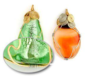 3. Wire Wrapping of Cabochons